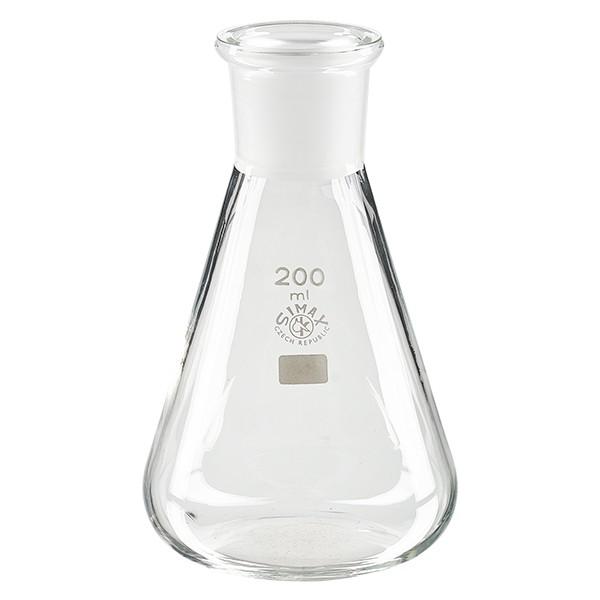 Erlenmeyerkolben 200 ml NS 29/32 ISO 4797
